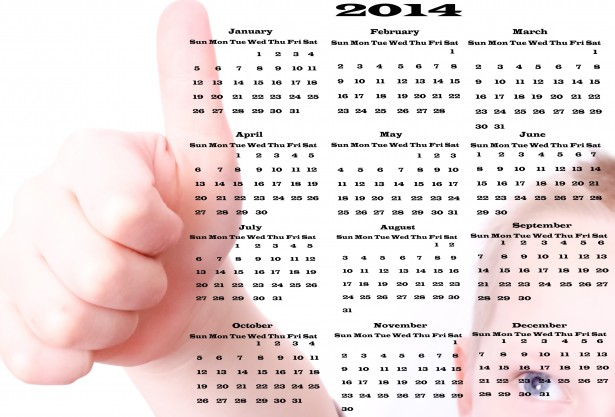 calendar-2014-thumbs-up