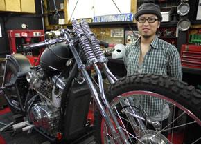 バイクの販売・修理で起業 発知 秀充氏